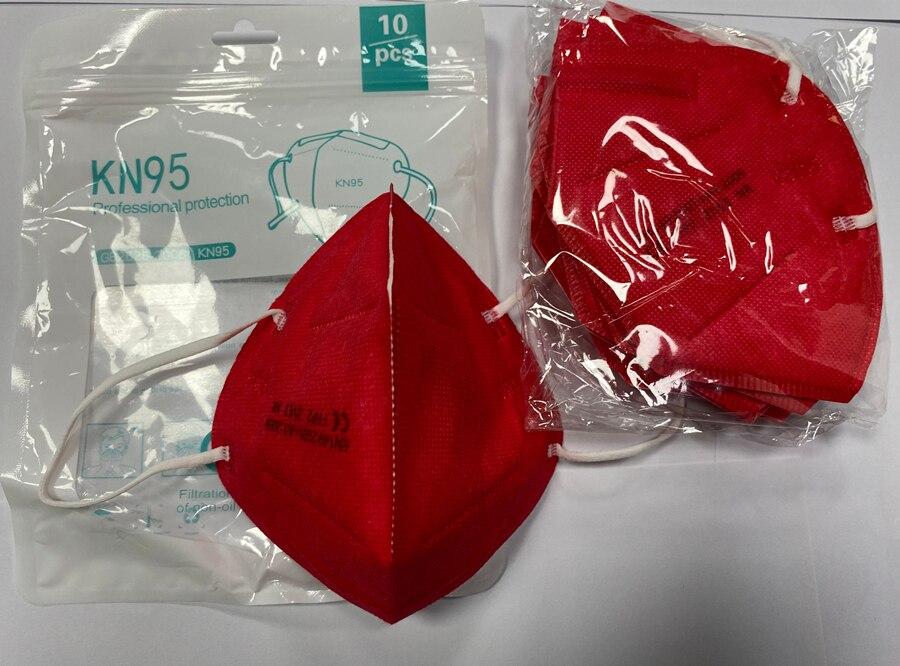Máscara respiradora FFP2 KN95 de 5 capas para adultos, mascarilla facial FFP3 con filtro, a prueba de polvo, reutilizable, FFP2