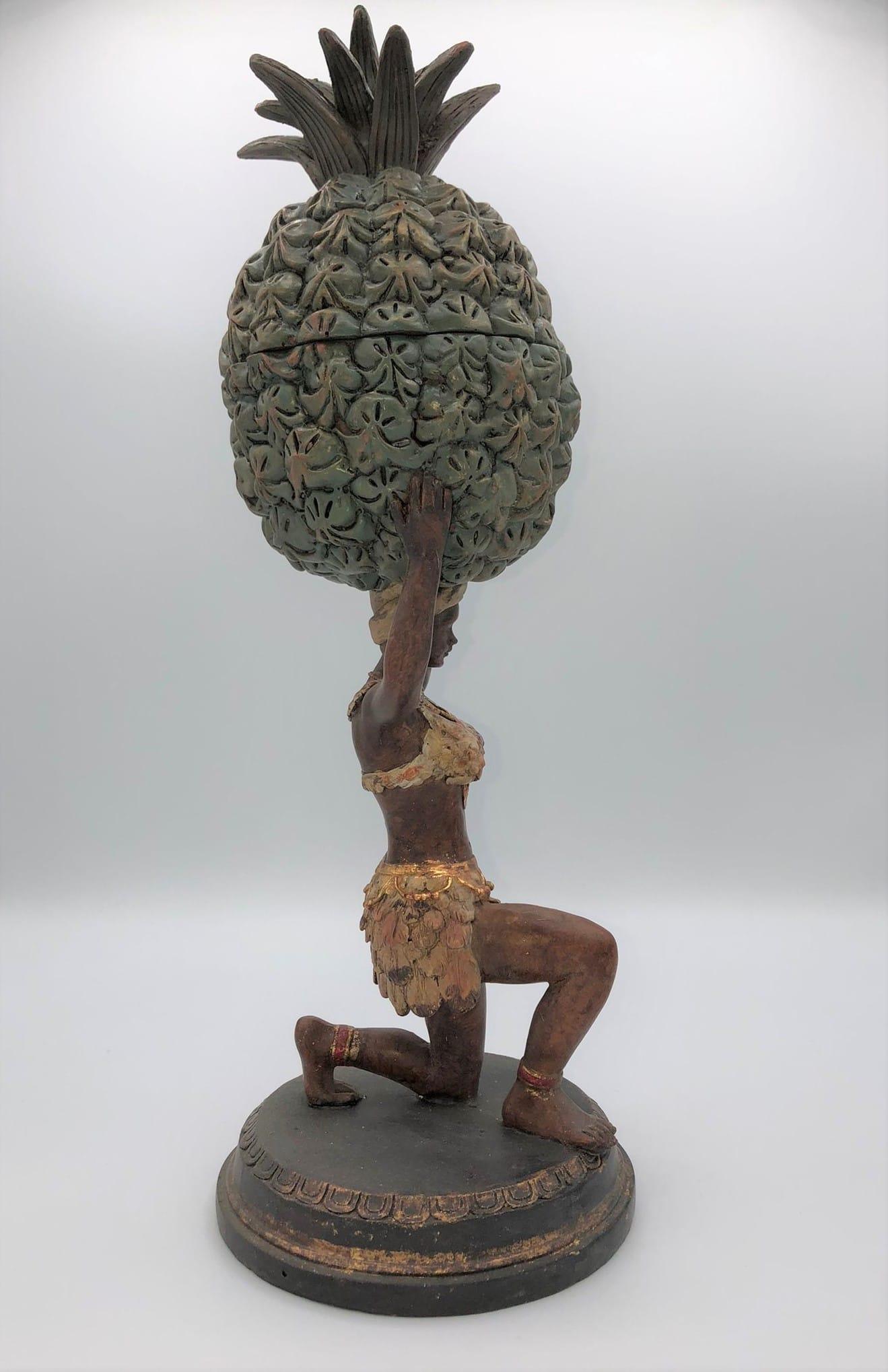 Figura joyero caribeño
