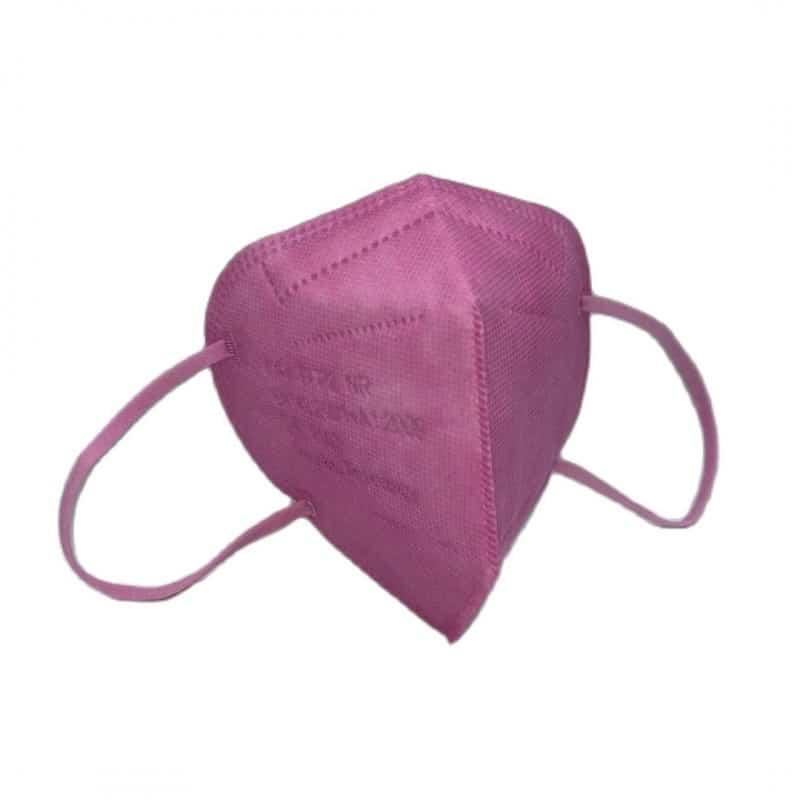 mascarilla ffp2 rosa 5 capas autofiltrante 3