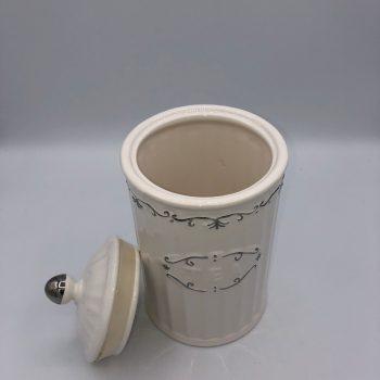 Bote de ceramica decorada 1