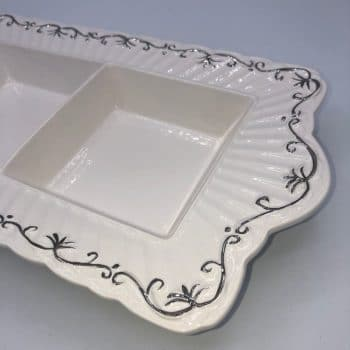 Centro de mesa de porcelana 2