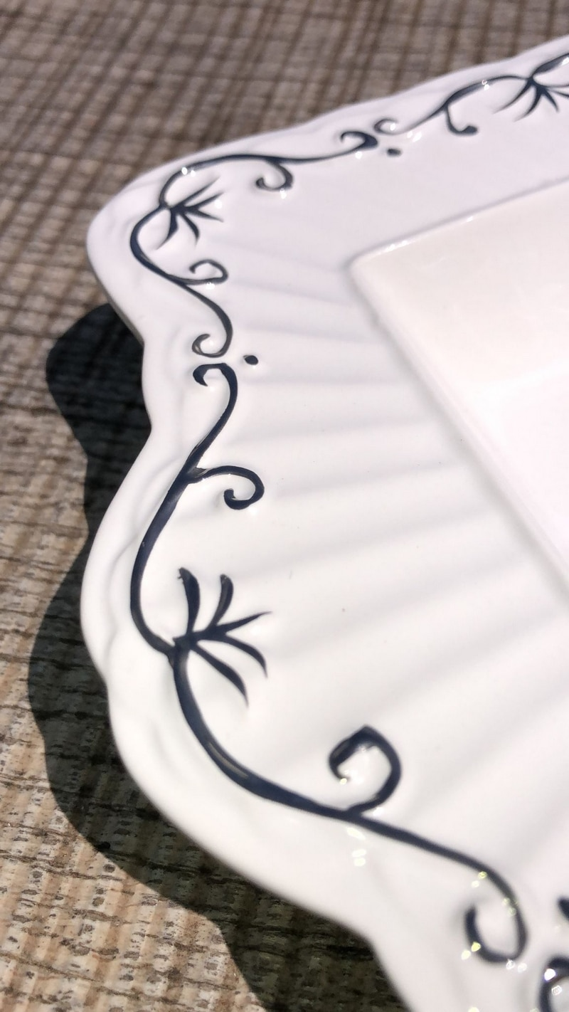 Centro de mesa de porcelana 3