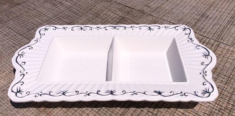 Centro de mesa de porcelana 6
