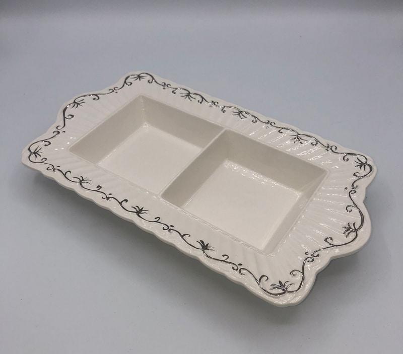 Centro de mesa de porcelana 7
