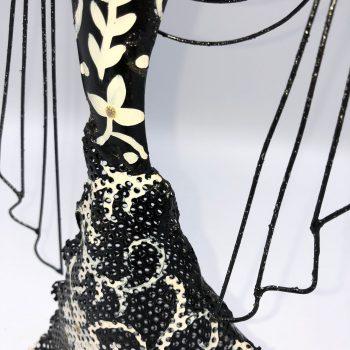 Colgador de joyas mujer flamenca 3