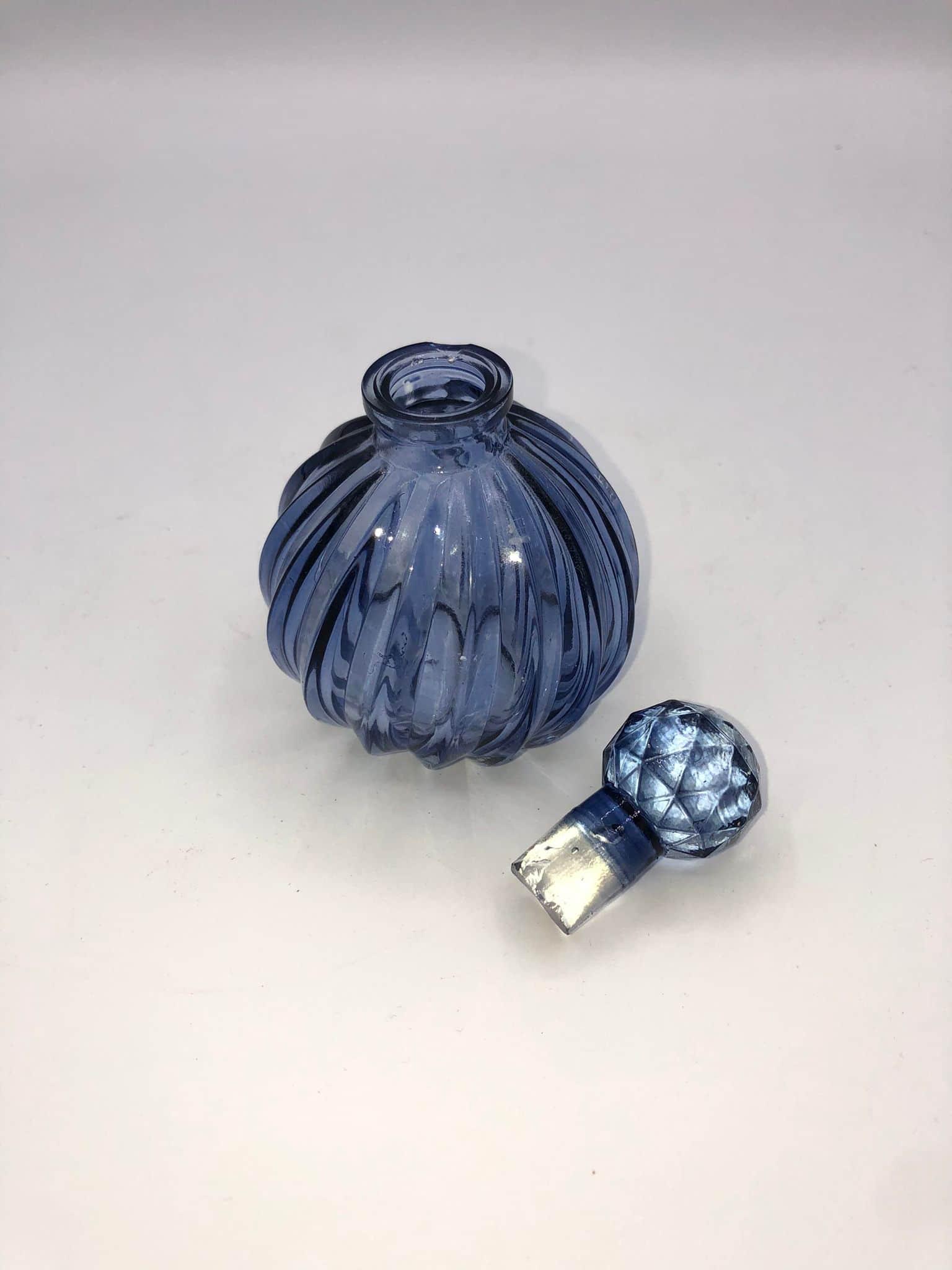 Frasco perfume azul 1