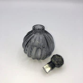 Frasco perfume gris 3