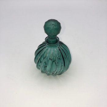 Frasco perfume verde 2