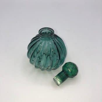 Frasco perfume verde 3