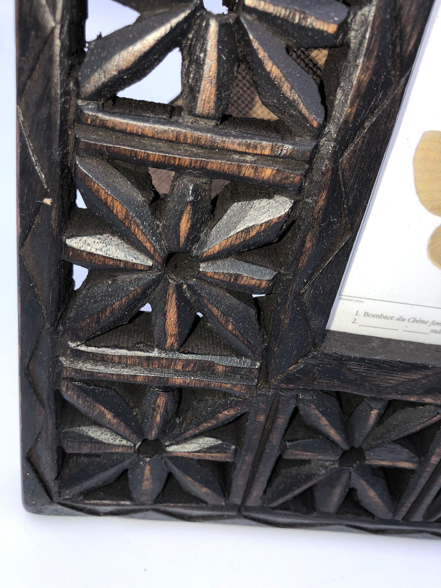 Marco de fotos madera marron 2 1