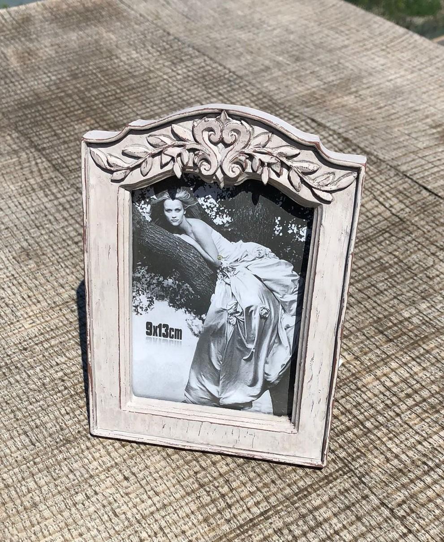 Marco de fotos en madera estilo vintage