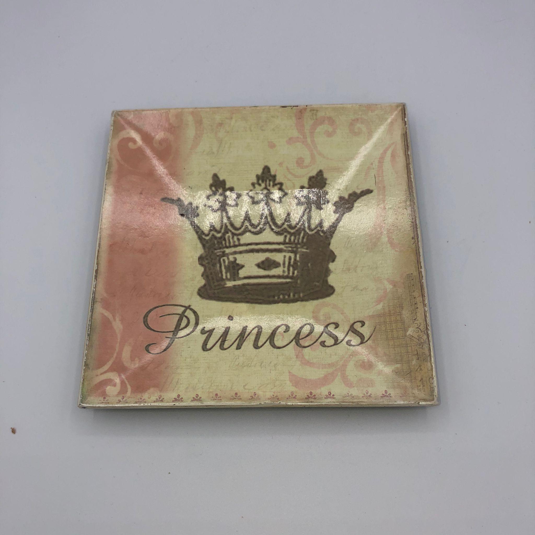 Plato decorativo Princess