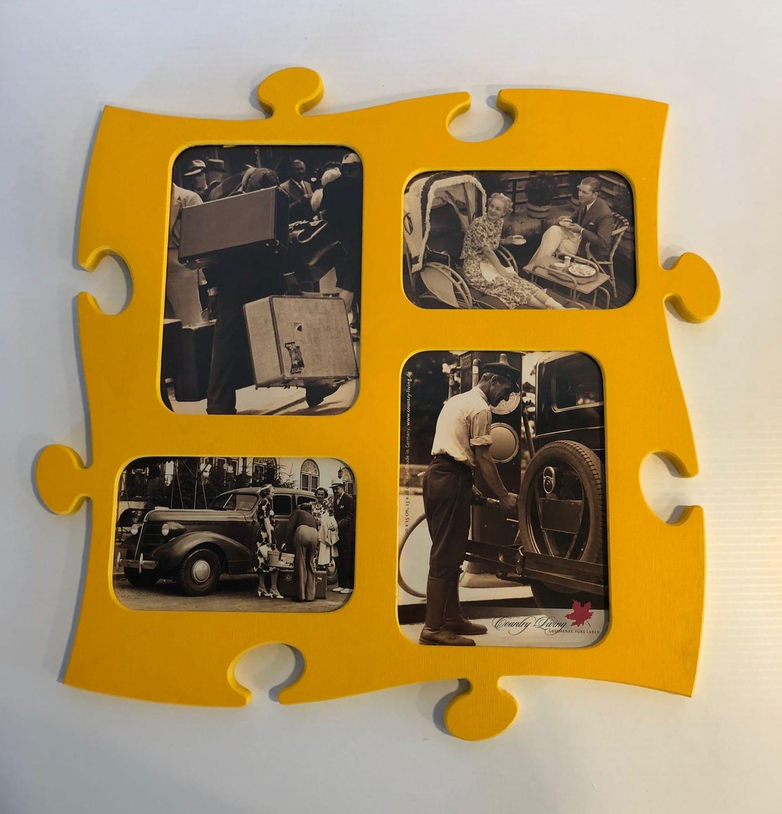 Marco de fotos puzzle
