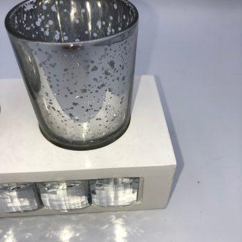 vaso porta velas con soporte 1