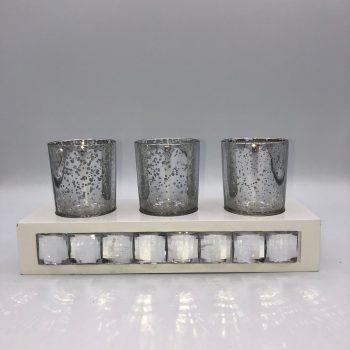 vaso porta velas con soporte 2
